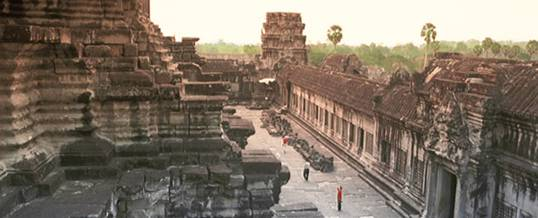 Exploring the many temples of Angkor