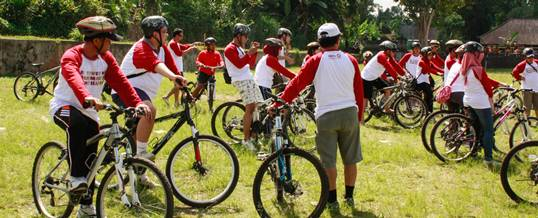 IBPA Cycling Test Ride