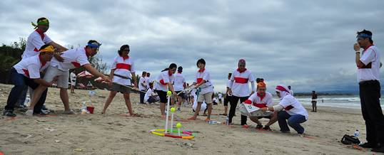 Outbound Pantai WCS Kuta