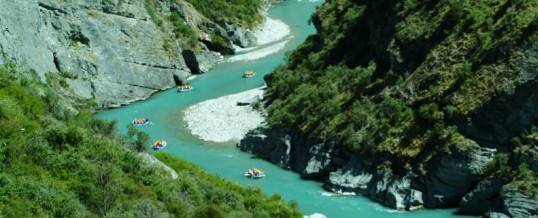 Rafting The Shotover River