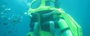 Wisata Adventure Underwater Scooter Bali