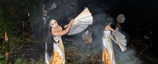 Adventure di Bali Malam Hari Ubud Camp