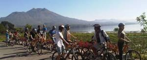 Caycling Di Bali Caldera Batur