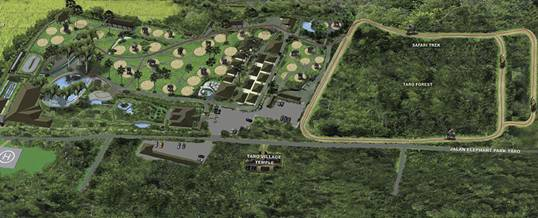 Naik Gajah Di Bali Adventure Tours Map