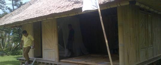 Outbound Bali Rumah Bambu Ubud