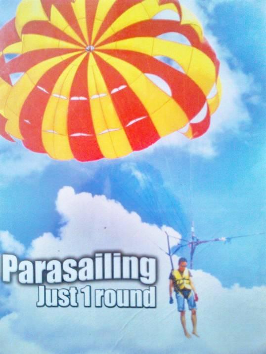 Water Sport Bali Parasailing