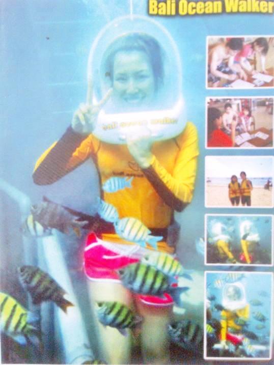 Water Sport Di Bali - Ocean Walker