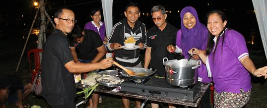 Bali Cooking Competition Outbound Inti