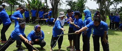Bali Outbound Ubud Camp Sedot
