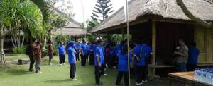 Outbound Bali Ubud Camp Welcome Drink