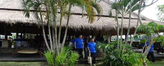 Outbound Bali Ubud Camp Welcome