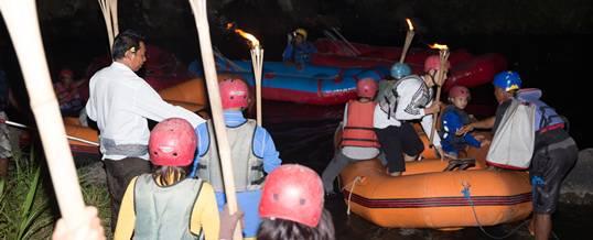 Rafting Bali Malam Sungai Ayung - Starting Point