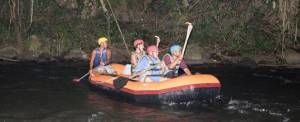Rafting Malam Sungai Ayung Bali
