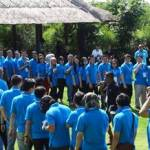 Bali Outbound - HP Partner Submit 2014 - WTM Bali - Ice Breaking