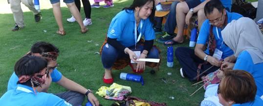 Bali Outbound - HP Partner Submit 2014 - WTM Bali - Udeng