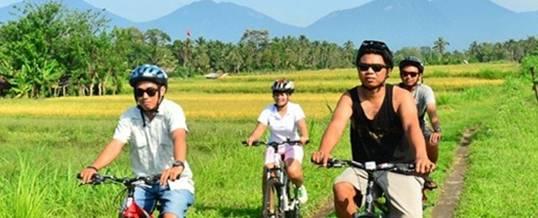 Outbound Bali Cycling Ubud Camp