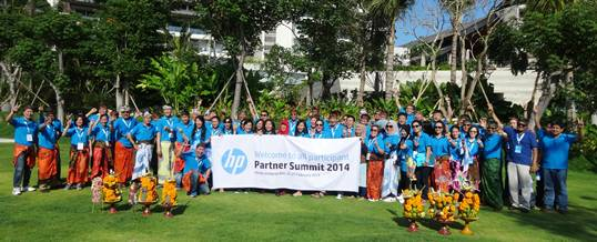Outbound Bali - HP Partner Submit 2014 - WTM Bali - Foto S