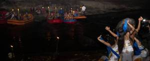 Outbound Bali Night Rafting Dance
