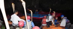 Outbound Bali Night Rafting Starting
