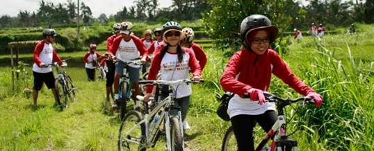 Outing Bali Cycling Ubud Camp Picture
