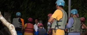 Outing Bali Night Rafting Breifing