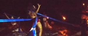 Outing Bali Night Rafting Contemporer Dance
