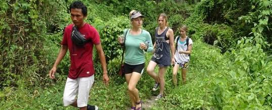 Bali Trekking Ubud Camp Pic