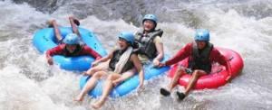 Paket Wisata Adventure Di Bali Camping & Tubing Ayung River