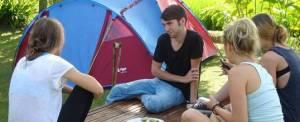 Paket Wisata Adventure Di Ubud Camping & Tubing Ayung