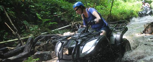 Tips Memilih Adventure di Bali - ATV Ride
