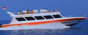 Tips Memilih Adventure di Bali - Fast Boat ke Gili