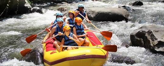 Tips Memilih Adventure di Bali - Rafting Ayung