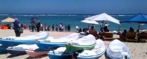 Outbound Bali Canoeing Pandawa Beach