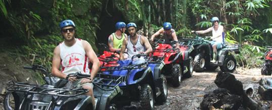 Outing Bali ATV Ride Taro Group