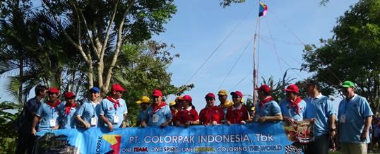 Outbound Di Bali Colorpak Foto Sesion