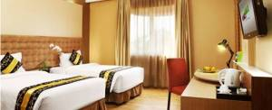 Rivavi Hotel Kuta Gold Twin Bed