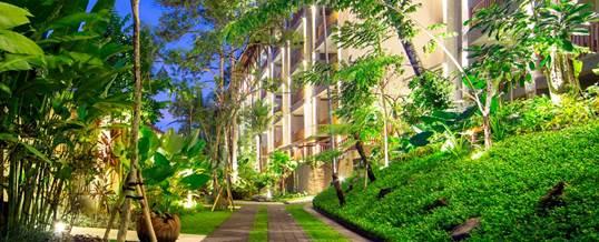 The Lokha Ubud Entrance