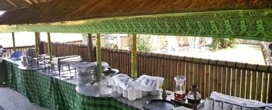 Outbound Di Bali Ubud Camp Restaurant 1