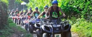 Corporate Outbound Training - Kombinasi ATV Ride