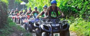 Corporate Outbound Training - Kombinasi ATV Ride
