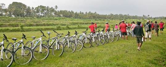Corporate Outbound Training - Kombinasi Cycling