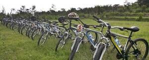 Outbound Bali Pertiwi Painball Bongkasa Cycling
