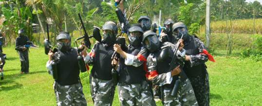 Outbound Bali Pertiwi Painball Group A