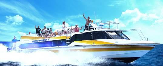 Paket Adventure Bali – Fast Boat Marina Srikandi