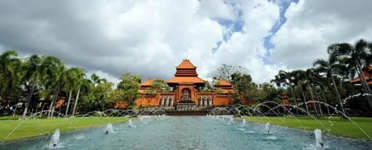 Paket Outbound Bali Taman Bhagawan Tanjung Benoa Dusa Dua - Garden