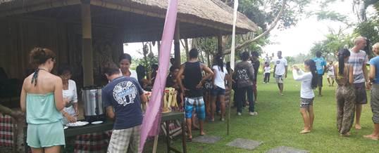 Paket Outbound Bali Tema Amazing Race Ubud Camp - Coffee Break