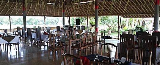 Paket Outbound Bali Tema Amazing Race Ubud Camp - Restaurant
