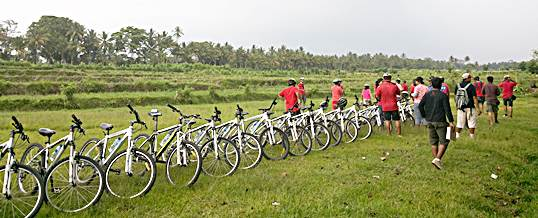 Paket Wisata Adventure Di Bali - Cycling Briefing