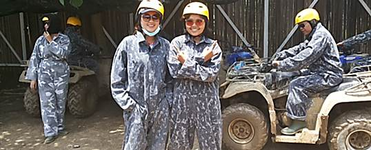 ATV Di Bali Pertiwi PT. JAS Persiapan