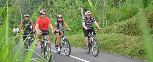 Paket Adventure Bali Di Kawasan Pariwisata Ubud Cycling